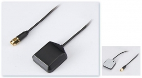 GNSS Antenna, Magnet Mount with GPS/GLONASS, 5M RG-174 N M Connector